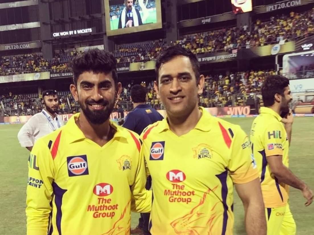 IPL 2020 त MS Dhoniनं बाकावर बसवून ठेवलेल्या फलंदाजानं दाखवला 'स्पार्क';  चोपल्या ३५० धावा अन् खेचले १७ षटकार! - Marathi News | CSKs Narayan  Jagadeesan highest scorer in Syed ...