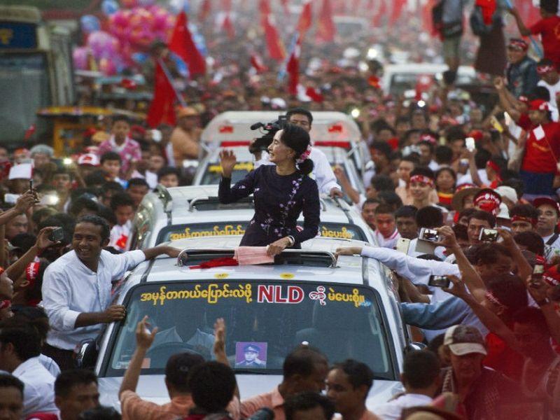 Do You Know Of Myanmar'S Leader Aung San Suu Kyi?   म्यानमारच्या नेत्या आंग  सान सू ची यांच्याबद्दल तुम्हाला माहिती आहे का ?   Lokmat.Com
