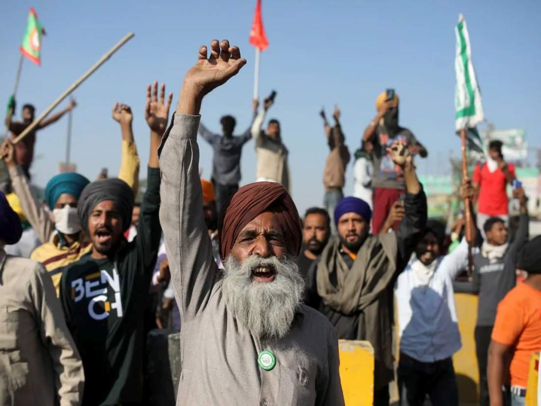 "Farmers' Protest: Samyukta Kisan Morcha to protest outside Raj Bhawans on June 26 as farmers will observe ""Kheti Bachao, Loktantra Bachao Diwas""."
