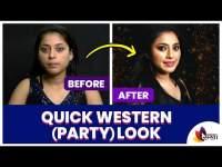 सिंपल, पार्टी लूक आता घरच्याघरीच । Quick Western Makeup Tips । Lokmat Sakhi