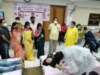 ठाण्यात वागड वर्धमान जैन संस्थेच्या शिबिरात ४०० दात्यांचे रक्तदान - Marathi News | Blood donation of 400 donors at Vagad Vardhman Jain Sanstha camp in Thane | Latest thane News at Lokmat.com