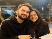 हे काय वागणं आहे सिद्धार्थ? मिताली मयेकरने नवरोबाला विचारला जाब - Marathi News | sidharth chandekar Share photo and this is how wife mitali mayekar reacts | Latest marathi-cinema News at Lokmat.com