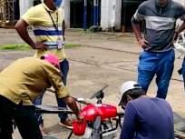 डेंग्यू, मलेरिया डास मारण्यासाठी पश्चिम रेल्वेचा ड्रोनचा वापर - Marathi News   Western Railway uses drones to kill dengue, malaria mosquitoes   Latest mumbai News at Lokmat.com