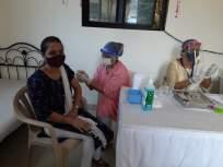 ठाण्यात पोलीस कुटूंबीयांमधील १०९ जणांना कोविडचे लसीकरण - Marathi News | Vaccination of 109 members of police families in Thane | Latest thane News at Lokmat.com
