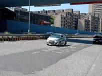 पूर्व मुक्त मार्ग : सिमेंट काँक्रिट रस्त्याची दुरावस्था - Marathi News | East Freeway : Poor condition of cement concrete road | Latest mumbai News at Lokmat.com