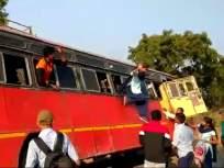 आणि विद्यार्थ्यांनी मारल्या बसच्या खिडकीतून उड्या