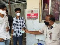मास्क घातला नाही तर रस्तास्वच्छ करावा लागणार - Marathi News | If the mask is not worn, the road will have to be cleaned | Latest mumbai News at Lokmat.com
