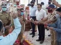 Coronavirus News: कोरोनावर मात केल्यानंतर ठाण्याचे पोलीस आयुक्त ड्यूटीवर हजर - Marathi News | Coronavirus News: Thane Police Commissioner on duty after overcoming Coronavirus | Latest thane News at Lokmat.com