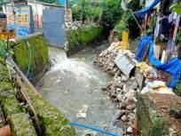नाल्याचा नैसर्गिक जलप्रवाह वळविल्याने घरांत पाणी शिरले - Marathi News | The natural water flow of the nallah diverted water into the houses | Latest mumbai News at Lokmat.com