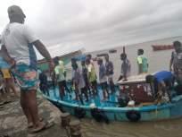 गोराईची लकीस्टारमच्छीमार बोट समुद्रात बुडाली; ११ जणांना वाचवले तर २ जण अद्याप बेपत्ता - Marathi News | Gorai Luckystar fishing boat sank in the sea; 11 rescued, 2 missing | Latest mumbai News at Lokmat.com