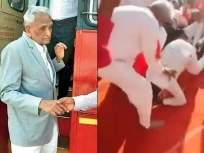 HBD विशेष : ज्यांच्या पायावर डोकं ठेवून कार्यकर्ते म्हणाले, 'आबा, तुम्हीच निवडणूक लढा' - Marathi News | Birthday Special: Activists with their heads at their feet said, 'Father, you fight the election' | Latest mumbai News at Lokmat.com