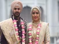 'पवित्र रिश्ता' फेम करणवीर मेहरा व निधी सेठने गुरुद्वारात बांधली लग्नगाठ, पाहा फोटो - Marathi News | karan veer mehra and nidhi seth wedding album ties the knot in delhi | Latest television News at Lokmat.com