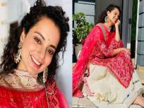 माझी एवढी आठवण काढू नका, मी लवकरच...! कंगनाने महाराष्ट्र सरकारवर पुन्हा साधला निशाणा - Marathi News | kangana ranaut reacts on fir against her comments on shivsena extends navratri wishes | Latest bollywood News at Lokmat.com