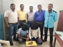 स्टार प्रजातीचे ५ कासव जप्त, २ आरोपींना अटक - Marathi News | 5 turtles of Star species seized, 2 accused arrested | Latest mumbai News at Lokmat.com
