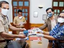 Coronavirus: कोरोना संकटकाळात पोलिसांची रोगप्रतिकार शक्ती वाढवण्यासाठी गोळ्यांचे वाटप - Marathi News | Coronavirus: Distribution of pills to boost police immunity during coronavirus crisis | Latest mumbai News at Lokmat.com