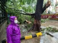 Cyclone Tauktae Updates: पाण्याचा जलद गतीने निचरा होण्यासाठी प्रयत्न सुरु; मुंबईतील परिस्थितीचा महापौरांनी घेतला आढावा - Marathi News | Cyclone Tauktae Updates: The mayor Kishori Pednekar took stock of the situation in Mumbai | Latest mumbai News at Lokmat.com