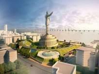 बाबासाहेबांच्या स्मारकातील पुतळ्याची उंची जमिनीपासून ४५० फूट, उंचीवाढीस सुधारित प्रशासकीय मान्यता - Marathi News | The height of the statue in Babasaheb's memorial is 450 feet from the ground | Latest mumbai News at Lokmat.com