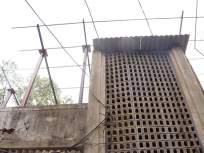 अंबरनाथमधील महावितरणच्या धोकादायक इमारतीवर शेड
