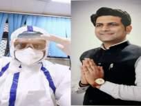 डॉक्टर म्हणाले, 'मी माघार घेऊन शकत नाही, मला देशाला वाचवायचे आहे', तीन दिवसानंतर मृत्यू - Marathi News | corona warrior dr amit dayma death, motivational video viral | Latest national News at Lokmat.com