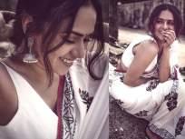 PHOTOS: मराठमोळी अमृता खानविलकर साडीत दिसते तितकीच ग्लॅमरस, तिच्या अदा पाहून व्हाल फिदा - Marathi News | PHOTOS: Marathmoli Amrita Khanwilkar is as glamorous as she looks in a saree. | Latest marathi-cinema Photos at Lokmat.com