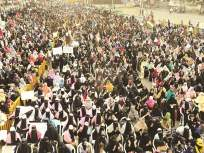 'मुल्क का बच्चा बच्चा जाग चुका है' धरणे आंदोलनात गगनभेदी घोषणांनी दिल्लीगेट पुन्हा दणाणला