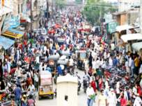 कडक निर्बंधाच्या घोषणेनंतर उसळली गर्दी - Marathi News | Crowds erupted after the announcement of strict restrictions | Latest mumbai News at Lokmat.com