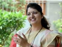 तुमच्या शॅडो गृहमंत्र्यांकडून चौकशी करा, रुपाली चाकणकरांचा मनसेला टोला - Marathi News   Inquire from your shadow home minister, Rupali Chakankar's MNS tola to sandeep deshpande   Latest mumbai News at Lokmat.com