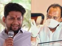 Remdisivir : शरद पवारांच्याही ओळखी होत्या, अजित पवारांनी सुजय विखेंचे कान टोचले - Marathi News | Remdisivir : Sharad Pawar was also known, Ajit Pawar pierced Sujay Vikhe's ear | Latest mumbai News at Lokmat.com