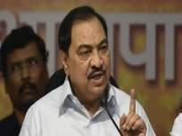 खडसेंचा विचार म्हणजे अंबुजा सिमेंटची दिवार, दुसऱ्या पक्षात जाऊच शकत नाही; भाजपा नेत्याचा दावा - Marathi News | Eknath Khadse cannot go to the other Political Party Said BJP leader Sudhir Mungantiwar | Latest politics News at Lokmat.com