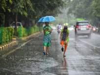 Rain: मुंबापुरीत कोसळधारा;वरळी हिल रोडवर टेकडीवरील दगड, माती कोसळली - Marathi News | Rain: A torrential downpour in Mumbai; Rock, soil collapsed on the hill on Worli Hill Road | Latest raigad News at Lokmat.com