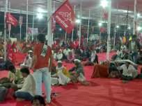 Farmers March in Mumbai Live: आंदोलक शेतकऱ्यांचा जत्था आझाद मैदानात दाखल;आज राजभवनाच्या दिशेने निघणार - Marathi News | Farmers March in Mumbai Live: agitating farmers enters Azad Maidan against Agriculture bill | Latest mumbai News at Lokmat.com