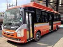 बेस्ट आहे; २६ वातानुकूलित विद्युत बसगाड्या ताफ्यामध्ये दाखल - Marathi News   Is the best; 26 air-conditioned electric buses entered the convoy   Latest mumbai News at Lokmat.com