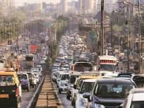 मुंबई-अहमदाबाद मार्गावर वाहतूककोंडी;नोकरदारांना फटका,पाच तास खाेळंबा - Marathi News   Traffic congestion on Mumbai-Ahmedabad route; Hit the servants, five hours   Latest thane News at Lokmat.com