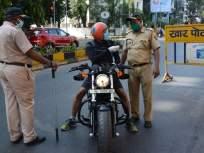 Lockdown: मुंबईत पुन्हा संचारबंदी; ठाणे, कल्याण-डोंबिवलीत लॉकडाऊन;निर्बंध लागू - Marathi News   Lockdown: Re-curfew in Mumbai; Lockdown at Thane, Kalyan-Dombivali; Restrictions apply   Latest mumbai News at Lokmat.com