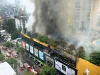 सिटी सेंटर मॉलला आग; ३,५०० रहिवाशांचे स्थलांतर; अग्निशमन दलाचे पाच जवान जखमी - Marathi News | City Center Mall fire; Evacuation of 3,500 residents; Five firefighters were injured | Latest mumbai News at Lokmat.com