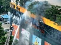 आगडोंब! 'सिटी सेंटर' अग्नितांडव; पाच जवान जखमी, दुकानांचे लाखो रुपयांचे नुकसान - Marathi News | City Center Mall crash; Five jawans were injured, Akhya fire brigade ran out of water | Latest mumbai News at Lokmat.com