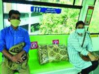 प्रवाशांना दिलासा :मोनो सुरू,मेट्रो आजपासून धावणार; पण'नो मास्क, नो एन्ट्री' - Marathi News | Mono has started Metro will run from today But no mask no entry | Latest mumbai News at Lokmat.com