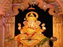 ५२१ मिष्टान्न आणि १ लाख दिव्यांनी सजले श्रीमंत दगडू शेठ हलवाई गणपती मंदिर