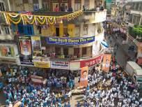 गोविंदा आला रे आला.... मुंबईत दहीहंडीचा उत्साह