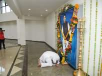 अप्पा, तुम्ही कायम माझ्या गुरुस्थानी आहात, गोपीनाथ गडावर टेकला माथा - Marathi News | appa, you are always my guru, dhanajay munde on Gopinath gad parli | Latest maharashtra Photos at Lokmat.com