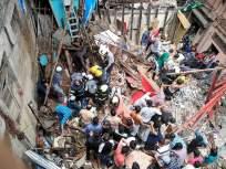VIDEO : मुंबईत चारमजली इमारतीचा भाग कोसळला, 40 ते 50 जण अडकल्याची भीती