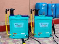 CoronaVirus मुलीचा वाढदिवस साजरा केला नाही; पालिकेला भेट दिली २ स्वच्छता मशीन - Marathi News | CoronaVirus celebrating the girl's birthday not celebrated; gave 2 Cleaning machine | Latest mumbai News at Lokmat.com