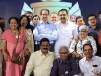 मुख्यमंत्री, जलसंपदामंत्री रमले वर्गमित्रांसोबतच्या गप्पांत