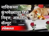 जेव्हा बॉम्ब शोधणारा साथीदार निवृत्त होतो | Bomb Squad Dog Retirement | Nashik | Maharashtra News - Marathi News | When a Bomb Detector Retires | Bomb Squad Dog Retirement | Nashik | Maharashtra News | Latest maharashtra Videos at Lokmat.com