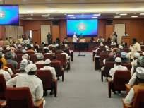 बहुचर्चित रझा अकादमीच्या नेत्यांसह २०० मुस्लिमांनी घेतली मुख्यमंत्री उद्धव ठाकरेंची भेट