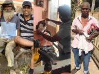 तो 'वेडा' काही तासांतच 'शहाणा' झाला, साताऱ्यात डोंगराच्या पायथ्याशी दिसली 'माणुसकी' - Marathi News | Humanity.. He became 'crazy' in a matter of hours, Bahrain's Abhijeet in satara, humen interest stories of satara | Latest mumbai News at Lokmat.com