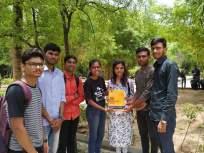 फर्ग्युसनच्या विद्यार्थ्यांचा अनाेखा उपक्रम ; वाढदिवसाला केक ऐवजी देतात पुस्तक