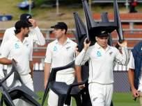 न्यूझीलंडच्या खेळाडूंनी तर चक्क मैदानात खुर्च्या उचलून आणल्या, पण का...