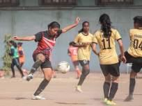 आंतरजिल्हा महिला फुटबॉल स्पर्धा:बुलडाण्याचा सोमवारी तगड्या कोल्हापूरशी सामना