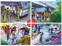 Hyderabad Encounter: हैदराबाद बलात्कार प्रकरणातीलचारही संशयीत चकमकीत ठार